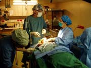Surgery on Africa Mercy in Liberia