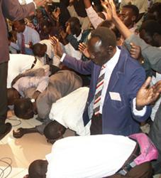 Pastors are praying for peace in Sudan