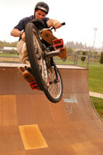 Skateboarders and BMX riders point young people to Christ