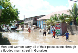 Compassion International hit hard by Hurricane Jeanne