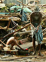 Tsunami relief isn't fading, more help is needed