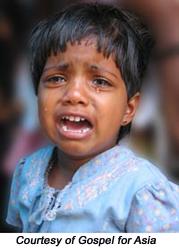 Tsunami leaves 10,000 orphaned in Sri Lanka alone