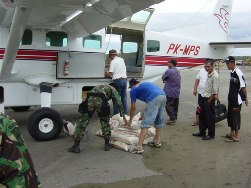 Mission Aviation Fellowship plays significant role in delivering aid to tsunami victims.
