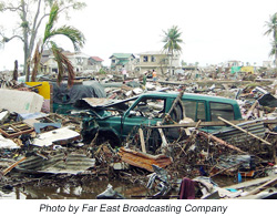Radios being delivered to areas hardest hit by the tsunami