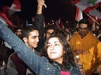 Christians watch Lebanon's rallies with hope.