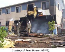 Fire hits ABWE in Ukraine, please pray
