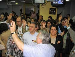 Global Advance encourages Jordan's church.