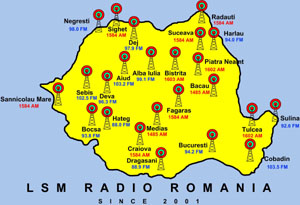 Flooding on the ground in Romania, but Gospel floods the air