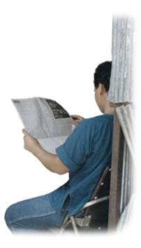 Bible correspondence courses compliment newspaper evangelism.