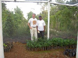 Floresta commits to a long term solution to Haiti's woes.