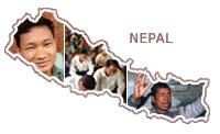 Believers proclaim peace in ravaged Nepal.