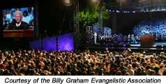 Thousands saved in Graham crusade in USA