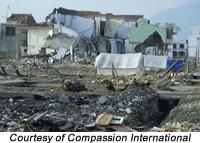 Christians are rebuilding tsunami struck villages in Indonesia