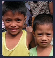 FEBC touching hearts of kids and kids at heart
