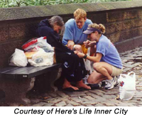 College students unite to evangelize the urban poor in the U-S