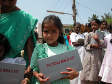 Talking Bibles are going to India to reach 100,000 families