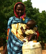 World Vision helps the displaced in Sudan.