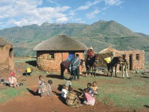 Spiritual and physical transformation comes in Lesotho.