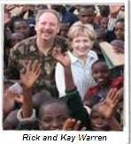 Rick Warren in Rwanda to discuss church's role in Global P.E.A.C.E. Plan.