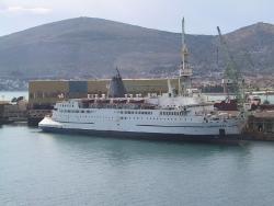 Renovations begin onboard Logos Hope