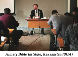 We get an update on the new religion law in Kazakhstan