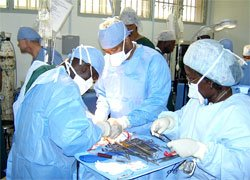 International Aid opens doors for outreach through medical training.