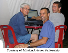 Evangelism is the goal of pilots and other techs with MAF