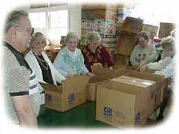 A mission group looks for Bibles, Books and bucks.