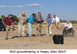 MAF breaks ground on new headquarters