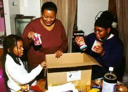 The holiday season nears in the U-S, an inner city ministry gets ready