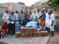 A Christian relief agency helps Senegal's flood victims out of the waiting game.