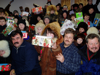 Christmas gifts blocked by Russia, mission groups asks for help