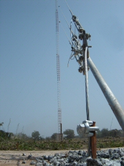 New Christian radio station in Benin has a tower, but much prayer is needed.