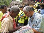 Indigenous Christian aid workers face opposition in tsunami zones.