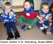 Christians to help with orphan problem in Russia