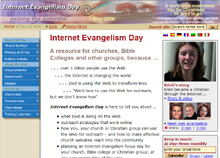 Internet evangelism day set for May