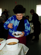 Soup kitchen helps the poor in Moldova