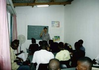 Seminary construction in Mozambique stifled by cash flow trouble.