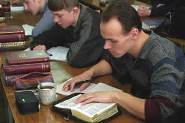 A mission group plants seeds for a future harvest of church growth.