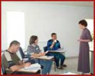 English classes an effective outreach tool in Europe.