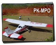The airplane helps meet tremendous needs in Papua, Indonesia.