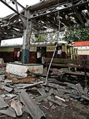 Train bombing in India hits two ministries