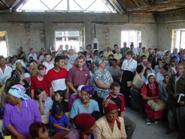 Short term team builds new church building in rural Kazakhstan.