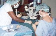 International Aid provides insight via eye clinics in Africa.