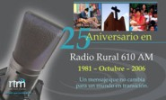 25 years marks growth in radio ministry.