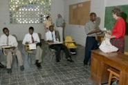 School year begins for Haitian church leaders in training.