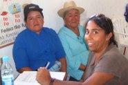 First aid help reaches El Fundo, Ecuador.