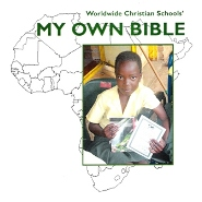 Buy a Bible for a child in Africa.