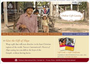 Catalog helps the church in ministry all over the world