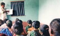 Threats fail to keep a literacy class shuttered in India.